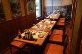 大小様々な個室をご用意しております。完全個室なので落ち着いてお食事ができます!!宴会も可能!!