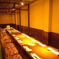 座敷席とテーブル席両方合わせて、最大40名様までご利用いただけます!もちろん貸切OK!歓送迎会、大人数での会社宴会にオススメです!ご予約承り中ですのでお早めにお問い合わせください!