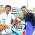漁師との関係性が密だからこそ仕入れる旬の食材の数々は絶品。