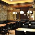 レトロ調のクラシックな店内は、格調高いインテリアで落ち着けます♪お食事だけでなく、雰囲気作りにも随所こだわりを散りばめております。