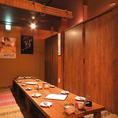 【2階】10名までのお座敷個室です。各種宴会にご利用下さい!