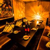 プライベート個室(テーブル)!6名様から14名様までご利用可能です♪歓迎会・女子会・誕生日・宴会は是非当店で★完全個室で主役をおもてなし♪新宿駅周辺の居酒屋をお探しでしたら是非、新宿東口個室肉バルコンボハウス 新宿東口店をご利用ください♪