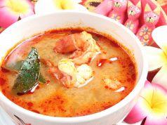 料理メニュー写真トムヤム・クン(エビの酸味スープ)(タイ) S/L