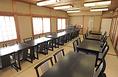 和室のお部屋にもテーブル&椅子席をご用意しております。ご希望の際にはお気兼ねなくお申し付けください。