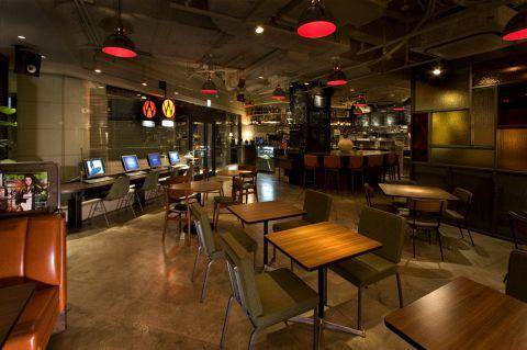 ワイアードカフェ WIRED CAFE Dining Lounge Wing 高輪店