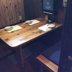 3名様までのテーブル個室です!