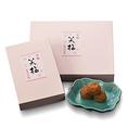 《笑い梅(わらいうめ)1 個¥390/ 6個入/¥2,460/12個入¥4,920》香り高い大粒の紀州南高梅をじっくりとりんご酢に漬け込みました。 上品でやさしい甘みと、ほどよい酸味が楽しめます。お茶請けなどにどうぞ。
