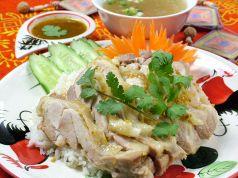料理メニュー写真カオマンガイ(鶏のせご飯)(タイ)