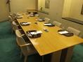 お足と楽な椅子とテーブルのお部屋。クラス会や御法事にもどうぞ。