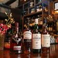ウイスキー好きは必見!限定品や有名品種もご用意していますのでお気軽にスタッフまで♪