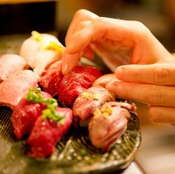 馬・牛・豚・鶏・鴨…あらゆる「肉」を職人が握る