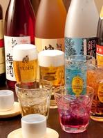 生ビールや日本酒など充実のドリンク♪