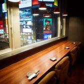 夜景が一望できる♪カップルカウンター席は雰囲気抜群でデートに最適です♪《すすきの/居酒屋/女子会/飲み放題/誕生日》