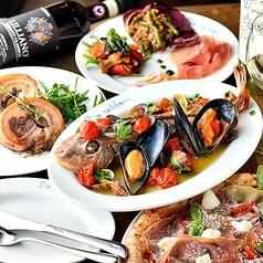 Trattoria e Pizzeria De salita 赤坂のコース写真