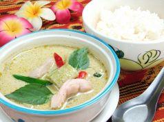 料理メニュー写真ゲーン・キョウ・ワーン(グリーンカレー鶏・豚・海老)(タイ)
