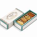《フールセック・サレ小箱¥1,080》お酒とともに楽しめる、スパイスやハーブがきいた塩気のあるサレクッキー。 お求めやすい小さな詰め合わせ箱でご用意しました。