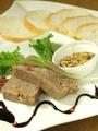 料理メニュー写真自家製岩手短角牛のコンビーフ