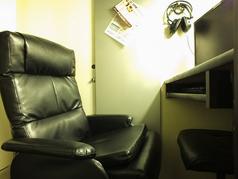 リクライニング席