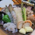 料理メニュー写真おおえびと海鮮たっぷり!!大海老海鮮鉄板