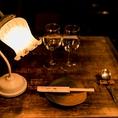 贅沢ディナーにもぜひ。おひとり様も歓迎しております。