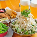料理メニュー写真鶏皮鍋セット(2名様用)