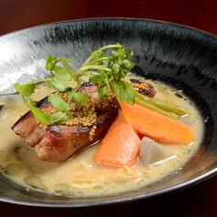 国産熟成豚のグリル ごろごろ野菜の洋風豚汁