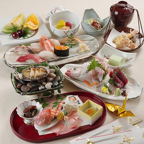 おもてなしの心や職人の技が光る贅沢な江戸前鮨を、接待やご会食で存分にご堪能下さい