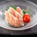 料理メニュー写真【阿波尾鶏】ささみたたき