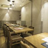 プライベート空間を楽しめる個室もございます。