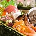 料理メニュー写真浜の刺盛(通称ハマサシ)