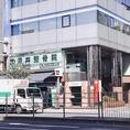 田原町駅の近くで「雷門1丁目交差点」の脇で、深井整骨院様と近畿日本ツーリスト様と同じビルの地下1階です☆