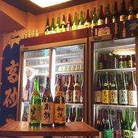 店内には全国100種以上の日本酒がずらり!!