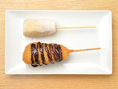 食後のデザートも串カツで♪チョコバナナ串かつ