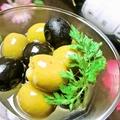 料理メニュー写真二色オリーブのマリネ