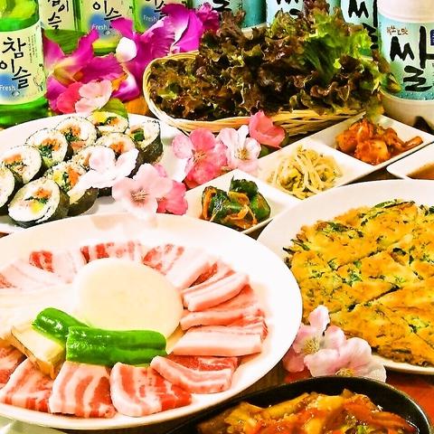 韓国家庭料理 聖 (ひじり) 三左衛門堀店