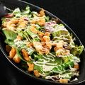 料理メニュー写真なんこつのせ和風サラダ