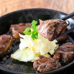 熟成牛ヒレ肉の鉄板サイコロステーキ