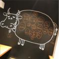 店内にはホルモンの部位がわかりやすいように壁に書いてあります!