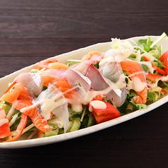 料理メニュー写真海鮮サラダ