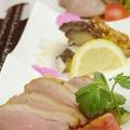 料理メニュー写真自家製スモーク(鴨・豚たん・さば)