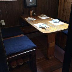 4名様までのテーブル個室です!