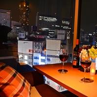 渋谷で夜景を見ながらデート、窓際ソファ席は予約必須