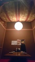 二階の弁天屋にて個室もご用意しております♪(纏本店のご予約は金土祝前日のみご利用いただけます。)