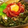 料理メニュー写真ユッケ丼