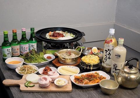 韓国料理 ぜんの豚