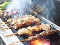 鮮度に拘る朝引きの鶏刺しを使用。