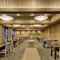 大中宴会用個室も充実。飲み放題プランもあります