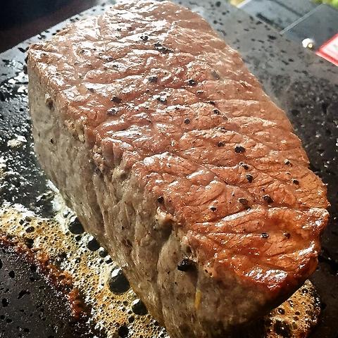 「えっ、これ何ですか?」 焼肉?ステーキ?-NO!! そう、肉の塊なんです。