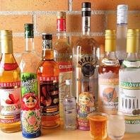 ロシア料理店ならではのお酒