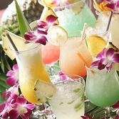ハワイアンカクテルも豊富にご用意しております!見た目もキュート☆女子会に!
